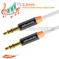 3.5mm Jack Male to Male Stereo Headphone Car Aux Audio Extension Cable Jack Plug