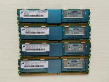 Micron HP 2RX4 4GB PC2-5300F DDR2 667mhz CL5 Ram compatible con FB-DIMM.