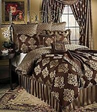 Waterford Cal King Charlemont Brown Bedding Set 4 pcs $765 New Tag Plastic bag