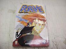 MANGA SHONEN-HIRO MASHIMA-RAVE-n° 5-STAR COMICS-AGOSTO 2004