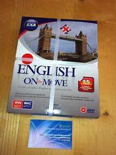 English On The Move-Corso COMPLETO di Inglese BASE+AVANZATO-PER PC-MAC-SIGILLATO