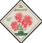 """MONACO N° 515 """"FLEURS OEILLE GRACE 10 F SUR 3 F"""" NEUF x TB"""