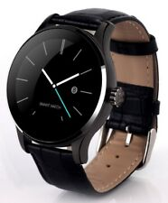 ROUND Smart watch K88H Bluetooth Heart Monitor Gesture Control Stainless Steel