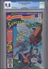 DC Comics Presents #41 CGC 9.8 1982 DC Joker, Prankster App Wonder Woman Preview
