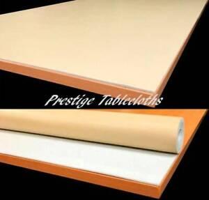Beige Table Protector Heat Resistant Heavy Duty Executive Table Felt byPRESTIGE