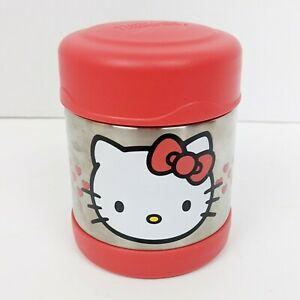 Hello Kitty Thermos Food Jar Storage 10 oz