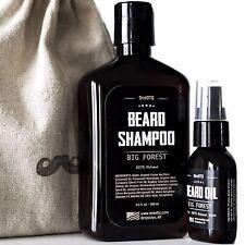 Big Forest Beard Care Kit: Beard Shampoo & Beard Oil - Promotes Beard Growth