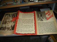 Flyer Plegable Propaganda D.c. Voluntarios de la Liberta ' Años '40