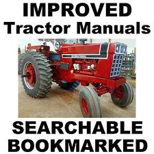 Heavy equipment manuals books for farmall ebay ih farmall hydro 100 186 1466 1468 tractor repair service shop manual on freerunsca Images
