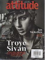 Attitude June 2018 Ian McKellen Actor Activist Legend/Troye Sivan