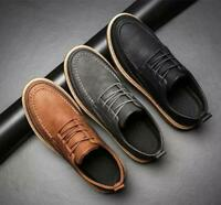 Carved Mens Creepers Platform Oxfords Shoes Lace Up British Brogue @US9 Fashion