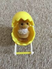 Sylvanian Families Duck baby and Egg Landau