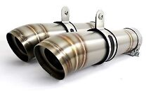 DOMINATOR Exhaust silencer muffler GP II YAMAHA V MAX 1700 09- + db killer