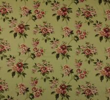 "WAVERLY HEIRLOOM TRELLIS SAGE #D4009 GREEN FLORAL MULTIUSE FABRIC BY YARD 54""W"