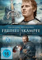 DIE GRÖßTEN HISTORISCHEN FREIHEITSKÄMPFE: EL CID/1572/ROBERT THE BRUCE 3DVD NEUF