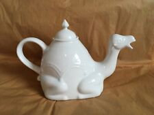 New White Ceramic Camel Teapot Cordon Bleu Anthropologie