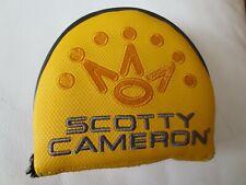 NEW Scotty Cameron Titleist 2020 Phantom X Heel Shaft Mallet RH Putter Headcover