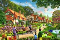 1000 Pieces Jigsaw Puzzle Rural Village Life - Brand New