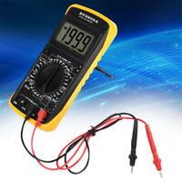Digital DT-9205A Multimeter AC/DC Ammeter Resistance Capacitance Tester Hz hFE