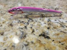 Custom Painted Crankbait Rapala Original Floating, F-11 New Lure