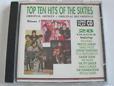 Top Ten Hits Of The Sixties - Various (CD Album) Used Very Good