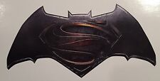 2x Batman vs Superman 5.5 Color Logo Car/Truck Window Vinyl Sticker Decal DC JDM