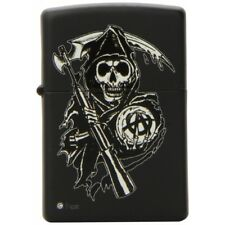 Zippo Sons of Anarchy Black Windproof Cigarette Lighter Genuine 28504