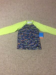 Columbia Boys Ls Stretch Shirt Small