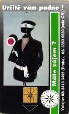 41 SCHEDA TELEFONICA PHONECARD USATA CZECH REPUBBLIC POLICE
