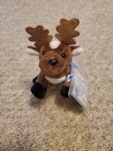 Webkinz WE000239 Kinz Klip Holiday Reindeer w/Unopened Code-NWT