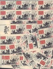 {BJ Stamps}  #1181  Battle of  the Wilderness. 100 Unused 5 cents stamps.   1964