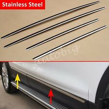 Stainless Steel Door Body Side Molding Trim Cover FOR Ford Escape Kuga 2013-2016