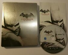 Batman Arkham City Steelbook - Playstation 3 PS3 - Steel Metal Book Case