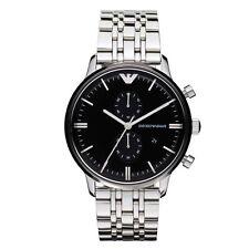 Emporio Armani Mens Chronograph Watch AR0389 - RRP £379.00 *BRAND NEW UK STOCK*