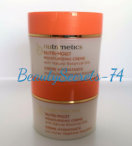 Nutrimetics Nutri Moist Moisturising Creme Moisturiser 2 x 125 ml