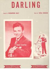 """FRANK SINATRA """"DARLING"""" SHEET MUSIC-1943-EXTREMELY RARE-COLLECTIBLE-BRAND NEW!!"""