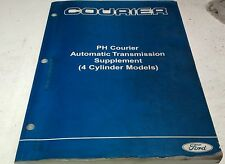 2005 FORD COURIER PH  Factory Workshop Manual - Automatic Trans