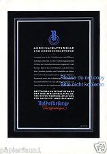 Wiegen Volksfürsorge Xl Reklame 1940 Aussteuer Versicherung Baby Wiege Werbung