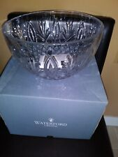 """RARE Waterford Crystal Granville 10"""" Bowl MINT FREE SHIPPING!"""