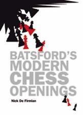De Batsford Moderno Chess Aberturas por Nick Firmian Libro Bolsillo 978190638