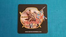 "Iron Maiden ""2 - Trooper Beer Coasters"" New / Licensed"