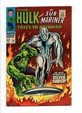 Tales to Astonish #93 VF 8.0 HIGH GRADE Marvel KEY Silver Surfer/Hulk Crossover