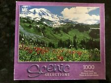 Sealed MB Mt. Rainier National Park, WA. Scenic Selection 1000 Piece Puzzle