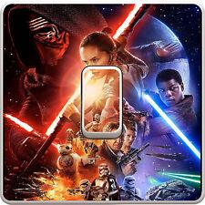 Star Wars Kylo Ren Interruptor De Luz Pegatina De Vinilo Calcomanía Para Niños Dormitorio #405