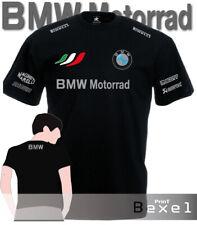 T Shirt Printed Bmw Motorrad 2 Motobike Racing Motorcycle Maglia Team Cotone cln
