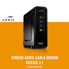 🔥ARRIS CM8200A  - DOCSIS® 3.1 Ultra Fast Cable Modem - ARRIS APPROVED 🔥