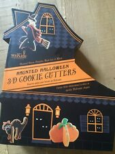 Williams-Sonoma Haunted Halloween 3-D Cookie Cutters Retail $24.00 EUC!