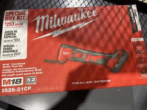 Milwaukee 2626-21CP M18 Oscillating Multi Tool Kit 18 Volt Lithium Ion N2