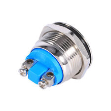 19mm Waterproof Car Metal Push Button Boat Horn Starter Momentary Switch 12V SG