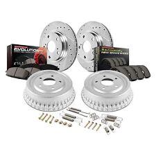 For Toyota RAV4 96-00 Brake Kit 1-Click Z23 Evolution Drilled & Slotted Disc &